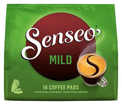 Senseo Mild, 16 Kaffee Pads, 10er Pack  (10 x 111 g)