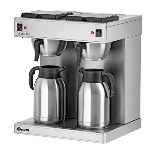 bartscher doppel kaffeemaschine contessa duo 2 x 2 liter isolierkanne. Black Bedroom Furniture Sets. Home Design Ideas