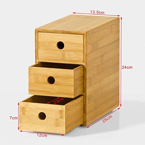 Sobuy Frg85 N Kaffeekapsel Box Kapselspender Schubladenbox